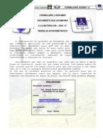 FORMULARIO SIS3540 MODELOS ECONOMETRICOS