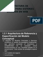 Arquitectura de Refer en CIA Para Sistemas Basados en WEB