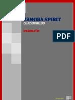 Zamora Spirit, Cuadernillos. (Peromato)