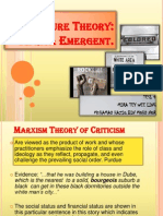 Africa Emergent - Theory of Criticism
