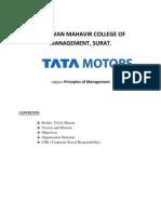 Tata Motors CSR