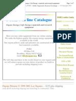 EB - Orgone Generators - Free Energy