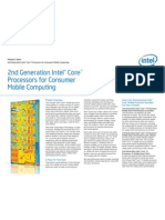 2nd Gen Core for Consumer Mobile Computing Brief