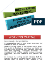 Working Capital Management (BCM)