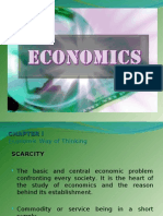 Presentation Economics