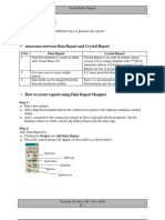 Visual Basic Reports