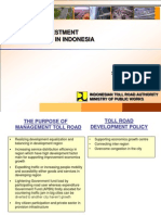Toll Road Investment Opportunities in Indonesia 1