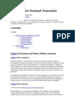 Poder Público Nacional