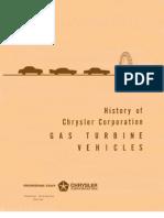 Chrysler Turbine History