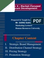 Chapter 4-Market-Focused Program Development