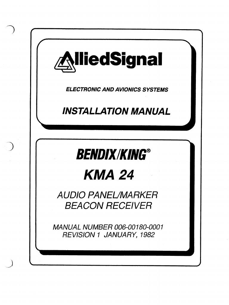 kma 24 install rh es scribd com Installation Guide kma24h audio panel installation manual