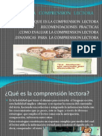 La Comprension Lectora[1]