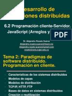 DAD 06.2 Javascript Arreglos Objetos