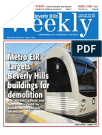 Metro EIR targets Beverly Hills buildings for demolition--Beverly Hills Weekly, Issue #652