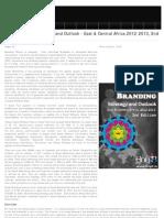 Social Branding Strategic Outlook 2012-2013 East & Central Africa, 2012