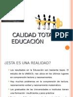 Calidad Total en Educacion
