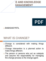 Change and Knowledge Management Ppt @ Bec Doms Mba