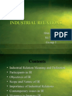 43977424 Industrial Relations Ppt