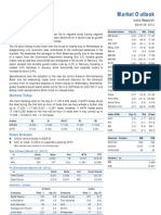 Market Outlook 29th March 2012