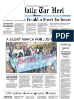 The Daily Tar Heel for March 29, 2012