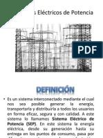 PARTES DE UN SISTEMA ELÉCTRICO DE POTENCIA