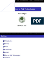 Intro Web Technologies