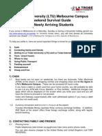 Weekend Survival Guide 1 December 2010