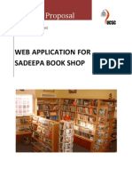 SapeepaBookShop_ProjectPrpposal