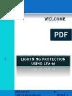 Lightning Protection Using LFA-M Presentation