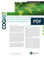 How Global Banks Are Gearing Up to Address Emerging International Payment Processing Needs