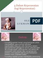 Psikologi Keperawatan (Konseling Dalam Keperawatan
