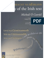 "Irish Constitution - The ""Literal"" Irish Text"