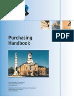 Purchasing Handbook