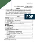 TI Using IBIS Models for Timing Analysis Spra839a