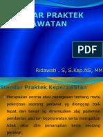 Copy of Standar Praktek Keperawatan