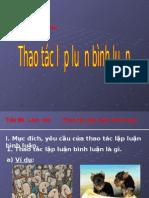 Thao Tac Lap Luan Binh Luan