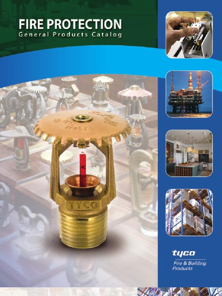 TYCO Sprinkler Type and Details | Fire Sprinkler System