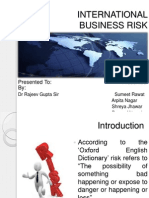 International Risk