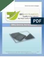 BRQ Dental Instruments Catalog