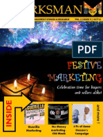 The Marksman - Festive (Oct) Issue
