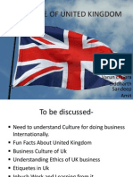 Culture of United Kingdom