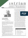 Austrian Economics Newsletter Spring 1994