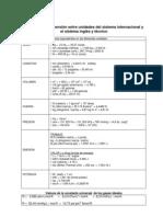 TPR - Tablas Conversion Entalpia Cp Diagrama Humedad