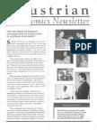 Austrian Economics Newsletter Fall 1991