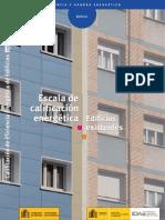 Escala Calificacion Edificios Existentes
