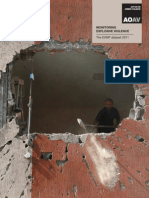 Monitoring explosive violence