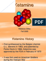 Ketamine Presentation.ppt Revised