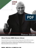 Steve Ferrone MIDI Groove Library Manual
