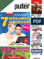 """4/2012 """"Computer Bild Lietuva"""" – """"Noutbukai"""" prieš """"netbukus"""""""