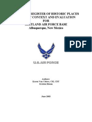 Kirtland Air Force Base | Military